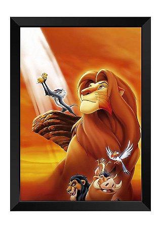 Quadro - Rei Leão