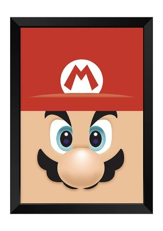 Quadro - Mario Face