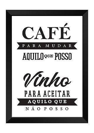 Quadro - Café Vinho