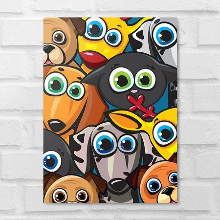 Placa Decorativa - Pop Art Animalzinho
