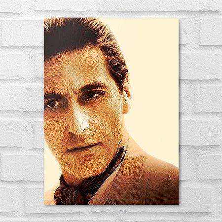 Placa Decorativa - Michael Corleone Clássico