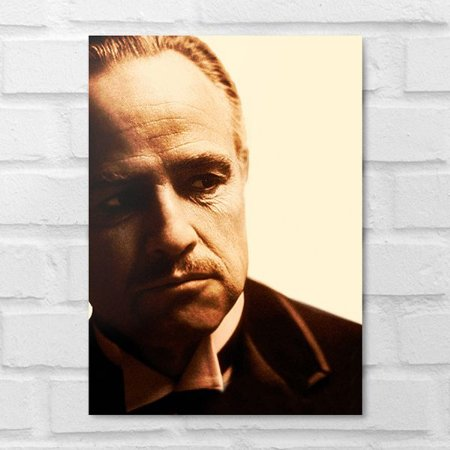 Placa Decorativa - Don Vito Corleone Clássico