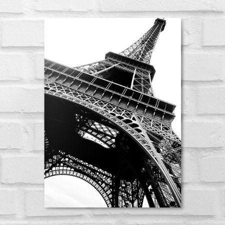 Placa Decorativa - Torre Eiffel