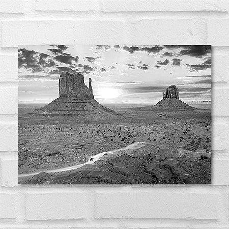 Placa Decorativa - Monument Valley