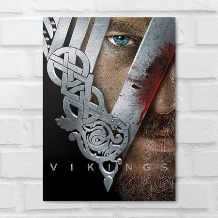 Placa Decorativa - Vikings