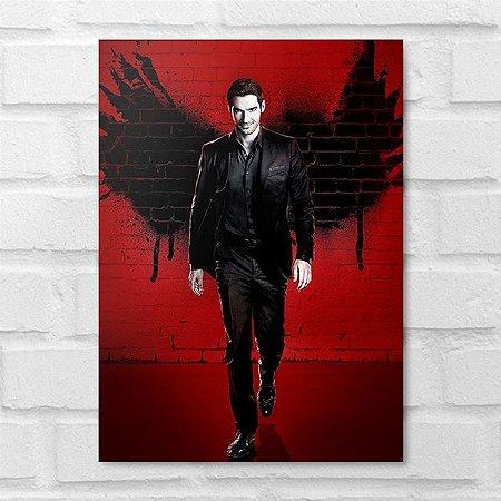 Placa Decorativa - Lucifer