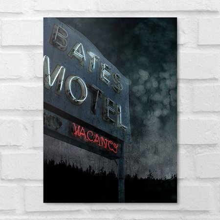 Placa Decorativa - Bates Motel