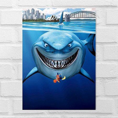 Placa Decorativa - Procurando Nemo