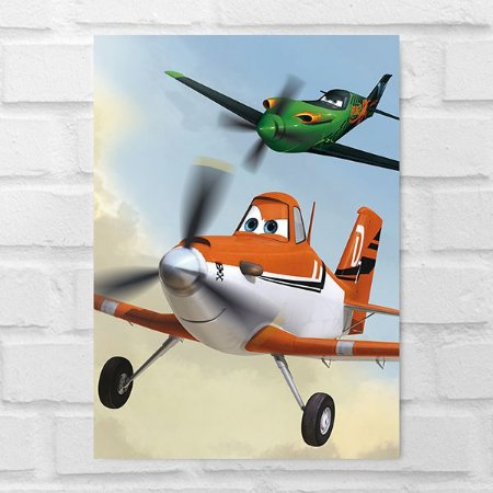Placa Decorativa - Aviões