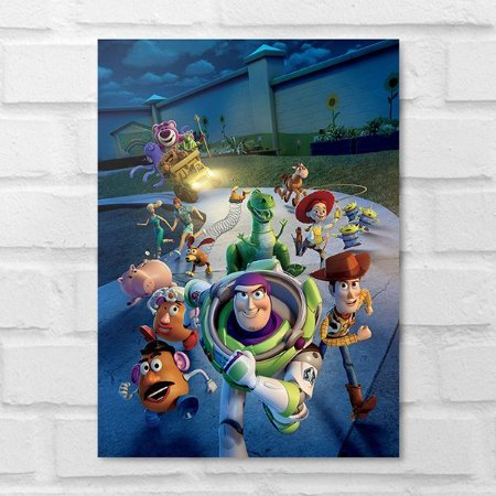 Placa Decorativa - Toy Story