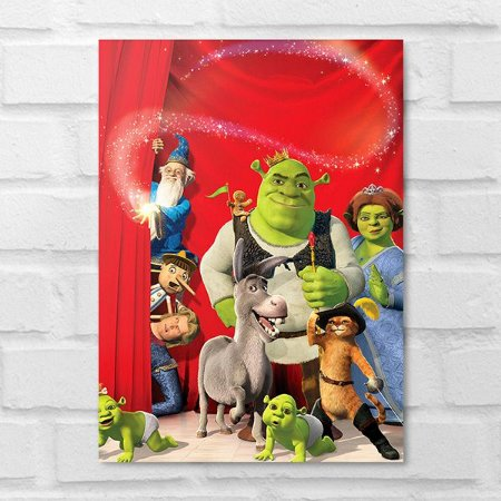 Placa Decorativa - Shrek