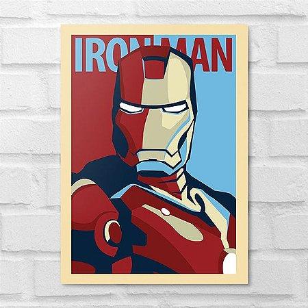 Placa Decorativa - Iron Man