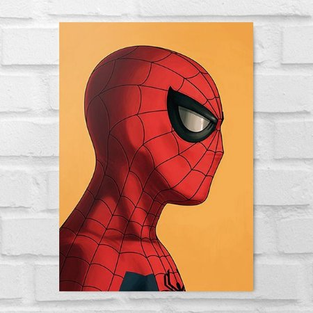 Placa Decorativa - Homem-Aranha Poster