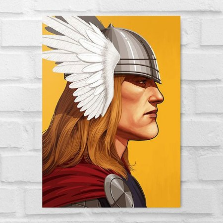 Placa Decorativa - Thor Poster