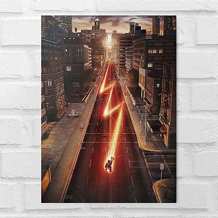 Placa Decorativa - Flash