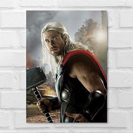 Placa Decorativa - Thor
