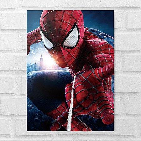 Placa Decorativa - Homem-Aranha