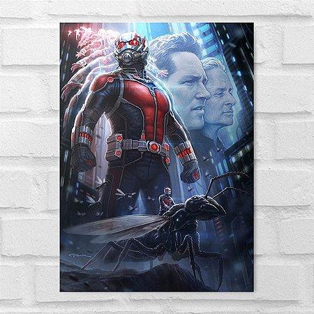 Placa Decorativa - Homem Formiga Poster