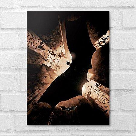 Placa Decorativa - Homem Morcego