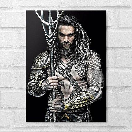 Placa Decorativa - Aquaman
