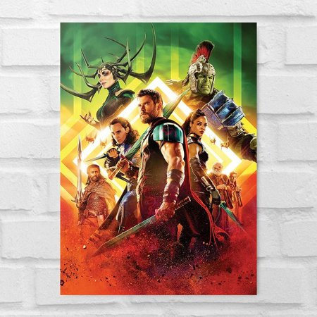 Placa Decorativa - Thor: Ragnarok