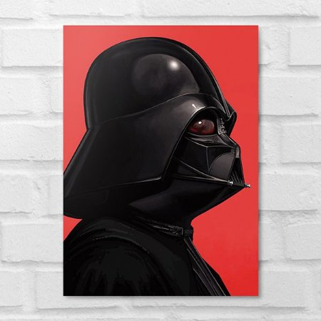 Placa Decorativa - Star Wars Darth Vader