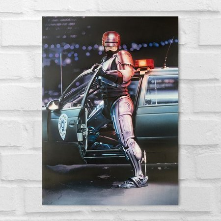 Placa Decorativa - Robocop