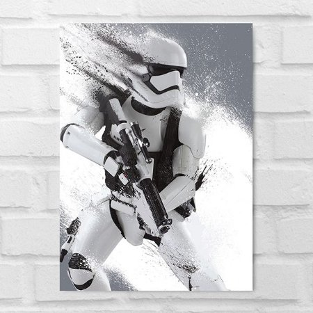 Placa Decorativa - Star Wars Soldado Clone Poster