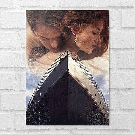 Placa Decorativa - Titanic