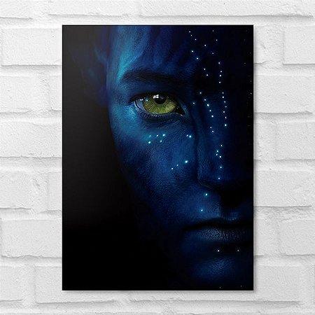 Placa Decorativa - Avatar
