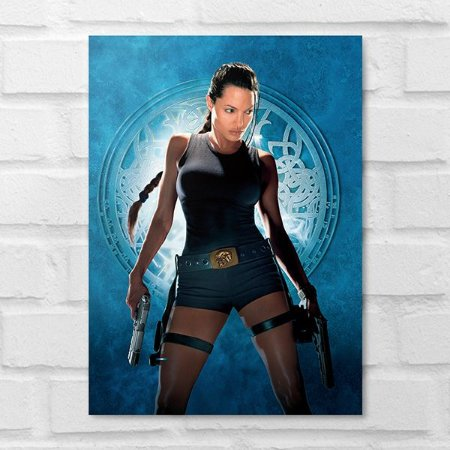 Placa Decorativa - Tomb Raider