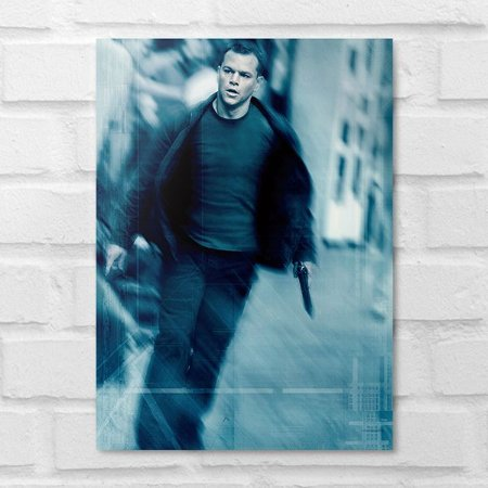 Placa Decorativa - O Ultimato Bourne