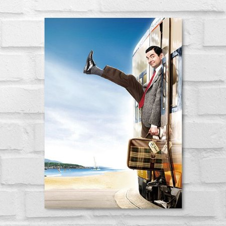 Placa Decorativa - Mr. Bean