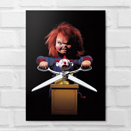 Placa Decorativa - Chucky Brinquedo Assassino