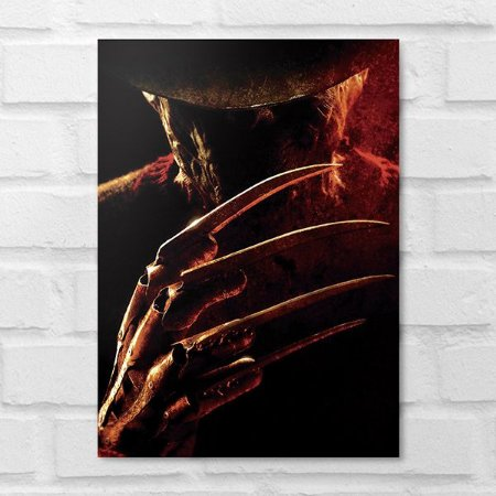 Placa Decorativa - Freddy Krueger