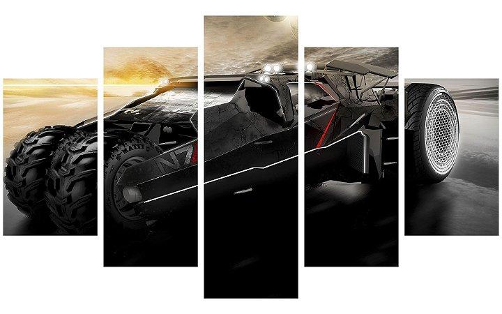 Painel Mosaico Decorativo em 5 partes - Mass Effect 3