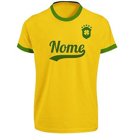 Camiseta Personalizada do Brasil 04