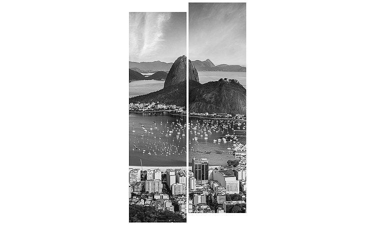 Painel Mosaico Decorativo em 2 partes - Rio