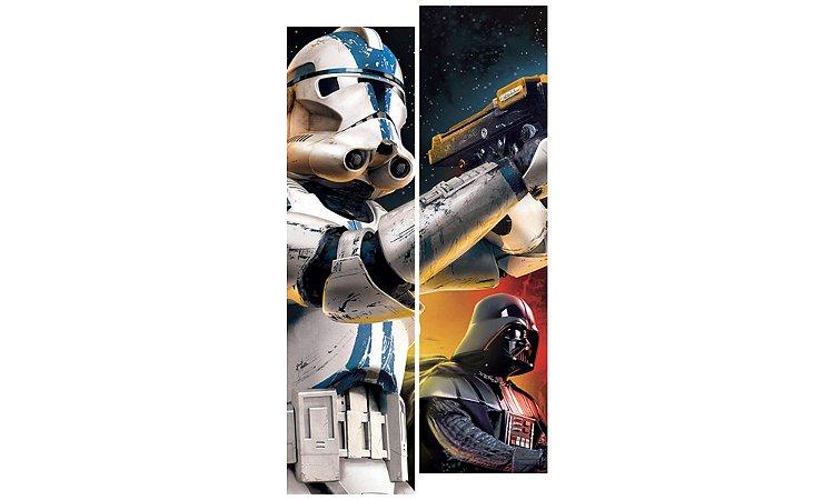 Painel Mosaico Decorativo em 2 partes - Star Wars Personagens