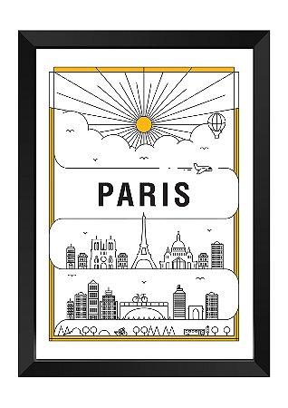 Quadro - Paris em Traços