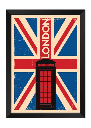 Quadro - Londres Minimalista