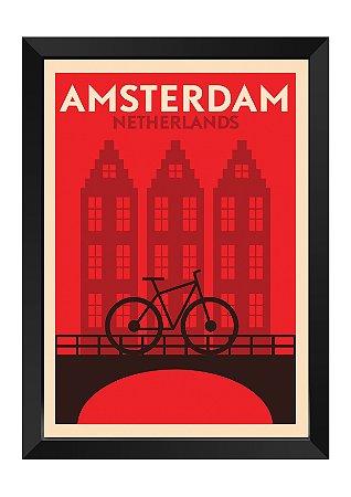 Quadro - Amsterdam Minimalista