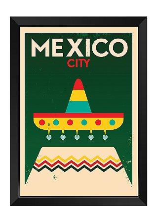 Quadro - México Minimalista