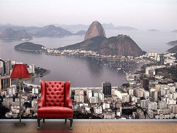 Papel de Parede fotográfico - Baía de Botafogo no Rio de Janeiro - PA018