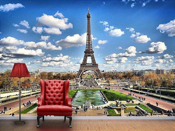Papel de Parede Fotográfico - Torre Eiffel - PA023