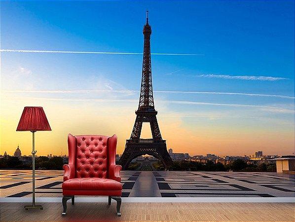 Papel de Parede Fotográfico - Torre Eiffel - PA025