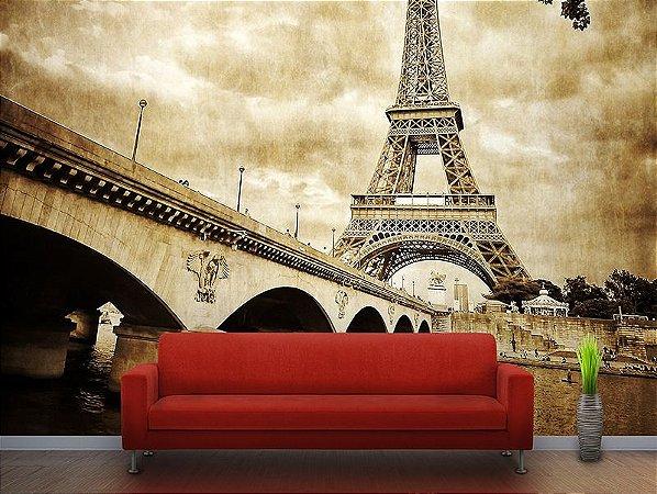 Papel de Parede Fotográfico - Torre Eiffel - PA034