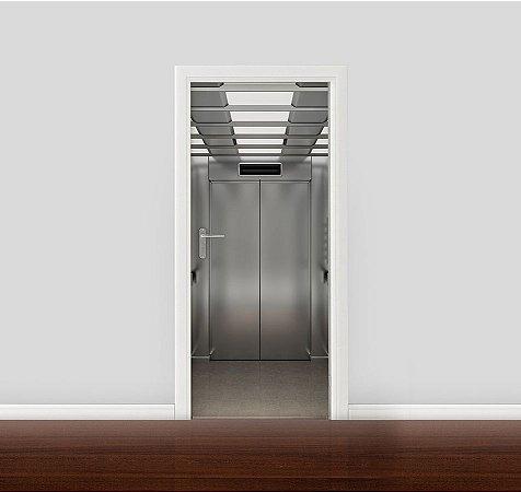 Adesivo para Porta - Dentro do elevador