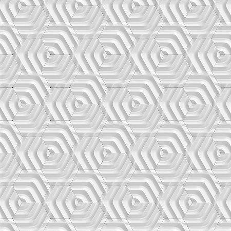 Papel de Parede Adesivo 3D Losango