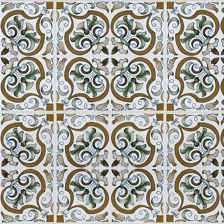 Papel de Parede Adesivo Azulejo Montijo